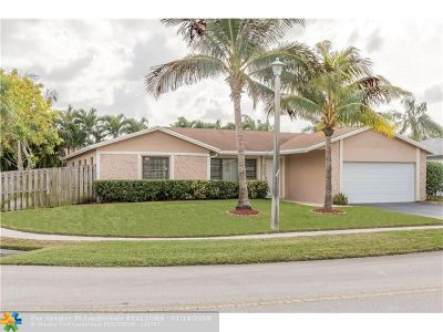 Broward County Single Family Home For Sale: 9580 NW 43rd St
