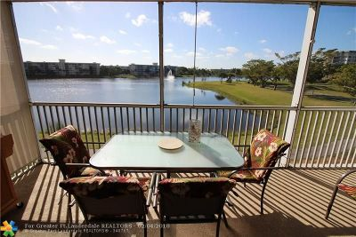 Pompano Beach Condo/Townhouse For Sale: 2900 N Course Dr #301