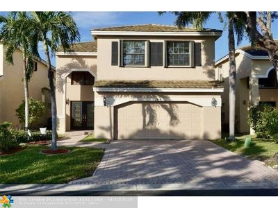 Coral Springs Single Family Home For Sale: 3434 NW 112th Ave