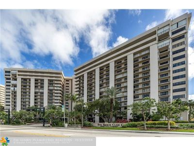 Lauderdale By The Sea Condo/Townhouse For Sale: 4900 N Ocean Blvd #611