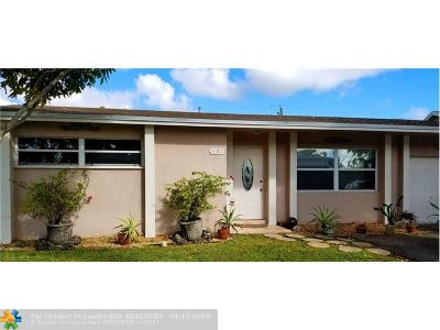 Sunrise Single Family Home For Sale: 11391 NW 37th St