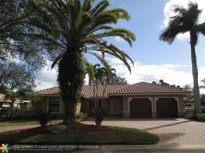 Coral Springs Rental For Rent: 5477 NW 88th Ter