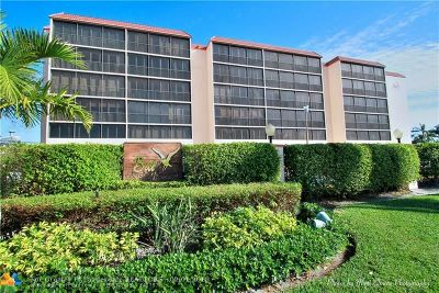 Pompano Beach Condo/Townhouse For Sale: 740 S Federal Hwy #502