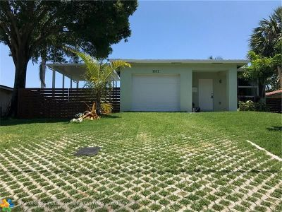 Fort Lauderdale Single Family Home For Sale: 2052 SW 28th Ave