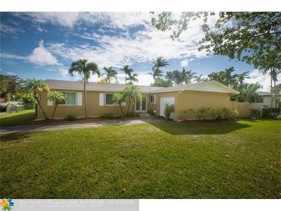Miami Single Family Home For Sale: 10500 SW 96th St