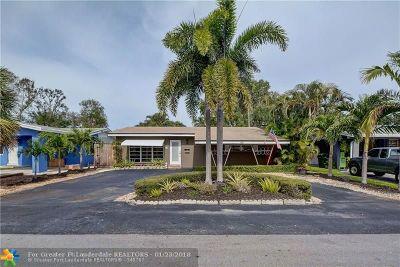 Oakland Park Single Family Home Backup Contract-Call LA: 1435 NE 39th St