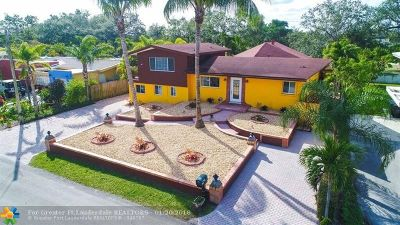 Fort Lauderdale Single Family Home For Sale: 2419 Whale Harbor Ln