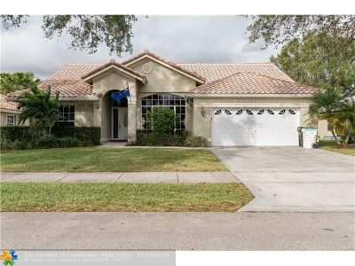 Coconut Creek Single Family Home For Sale: 3949 NW 57th St