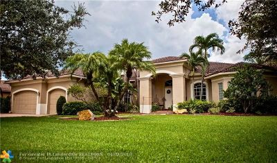 Davie Single Family Home For Sale: 13877 SW 44th St