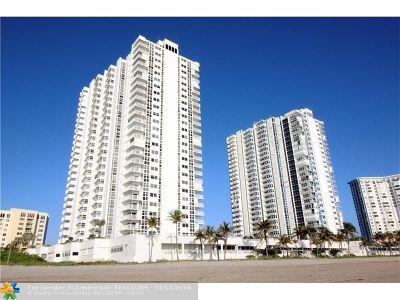 Pompano Beach Condo/Townhouse For Sale: 1370 S Ocean Blvd #1408