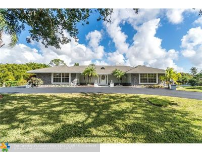 Parkland Single Family Home For Sale: 6380 NW 75th Way