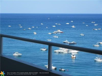 Lauderdale By The Sea Condo/Townhouse For Sale: 4050 N Ocean Dr #1108