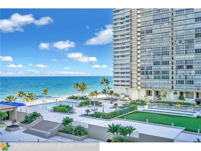 Condo/Townhouse Sold: 4300 N Ocean Blvd #5G