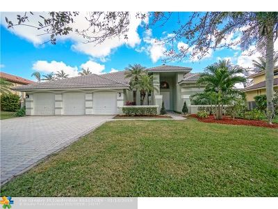 Coral Springs Single Family Home For Sale: 4151 NW 66th Ave