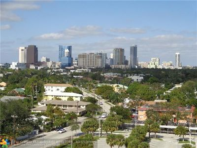 Fort Lauderdale Condo/Townhouse For Sale: 1625 SE 10th Ave #1010