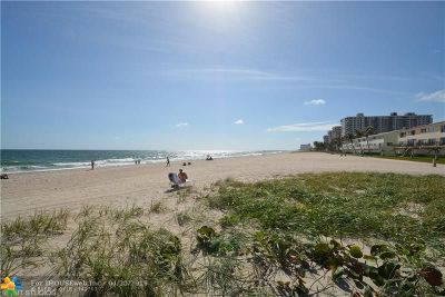 Lauderdale By The Sea Condo/Townhouse For Sale: 6000 N Ocean Blvd #5F