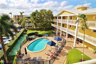 Fort Lauderdale Condo/Townhouse For Sale: 3201 NE 29th St #308