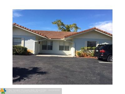 Coral Springs Multi Family Home For Sale: 4220 Coral Springs Dr