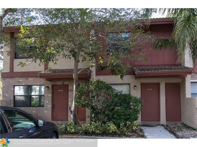 Coral Springs Condo/Townhouse For Sale: 9909 Riverside Dr #12-2
