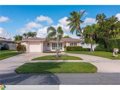 Pompano Beach Single Family Home For Sale: 341 SE 3rd St