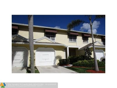 Boca Raton Single Family Home For Sale: 5227 Sapphire Valley