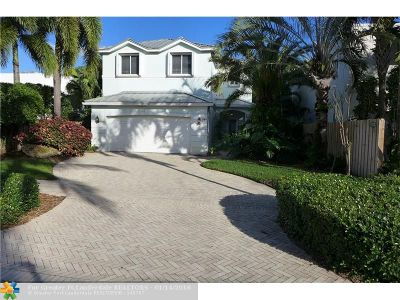 Fort Lauderdale Single Family Home For Sale: 740 NE 17th Way