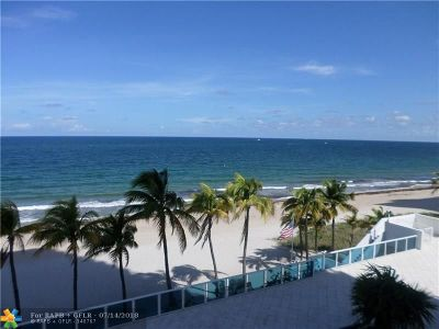 Pompano Beach Condo/Townhouse For Sale: 1360 S Ocean Blvd #301