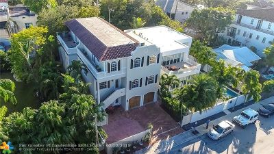 Fort Lauderdale Condo/Townhouse For Sale: 1402 SE 2nd St #REAR