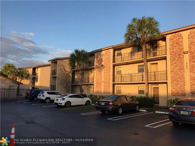 Coral Springs Rental For Rent: 3351 NW 85th Ave #312
