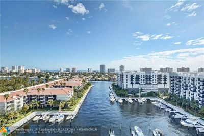 Fort Lauderdale Condo/Townhouse For Sale: 3200 Port Royale Dr #1201