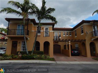 Coconut Creek Rental For Rent: 6917 Julia Gardens Dr