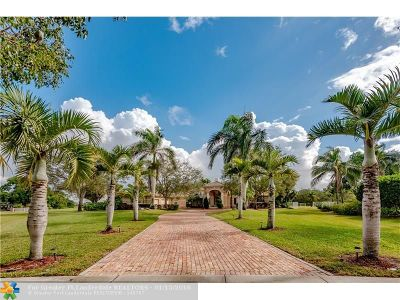 Cooper City Single Family Home For Sale: 13056 Majestic Way