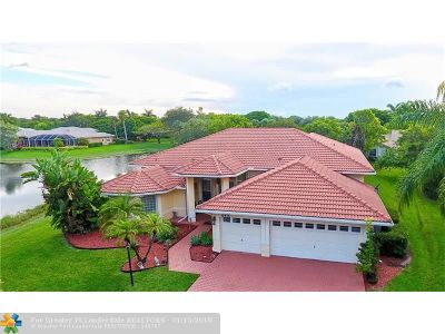Parkland Single Family Home For Sale: 6415 NW 98th Ln