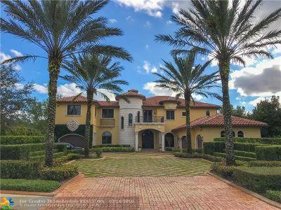 Davie Single Family Home For Sale: 12704 Stonebrook Dr