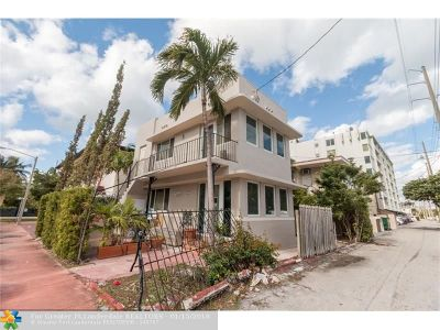 Miami Beach Single Family Home For Sale: 235 82nd St