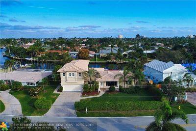 Lighthouse Point Single Family Home For Sale: 2840 NE 20th Av