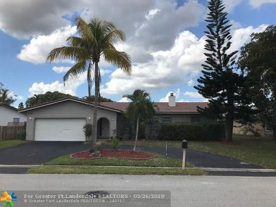 Coral Springs Rental For Rent: 2352 NW 120th Ln