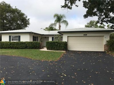 Coral Springs Rental For Rent: 1826 NW 85th Dr