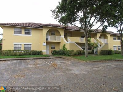 Coral Springs Rental For Rent: 4115 NW 114th Ave #4115