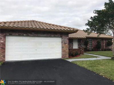 Coral Springs Rental For Rent: 3740 NW 113th Ave