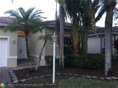 Coral Springs Rental For Rent: 11615 NW 48th Ct