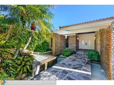 Fort Lauderdale Single Family Home For Sale: 4600 NE 23rd Ave