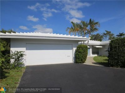 Wilton Manors Single Family Home Backup Contract-Call LA: 717 NW 30th St