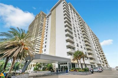 Fort Lauderdale Condo/Townhouse For Sale: 4250 Galt Ocean Dr #2T