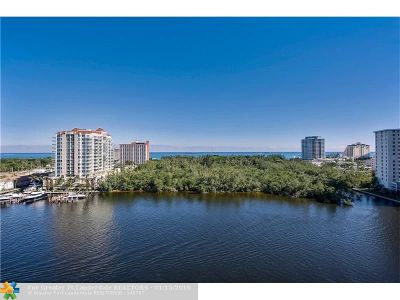 Fort Lauderdale Condo/Townhouse For Sale: 920 Intracoastal Dr #1001