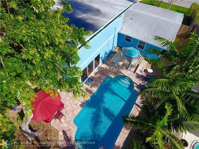Fort Lauderdale Single Family Home For Sale: 1643 NE 8th Ave