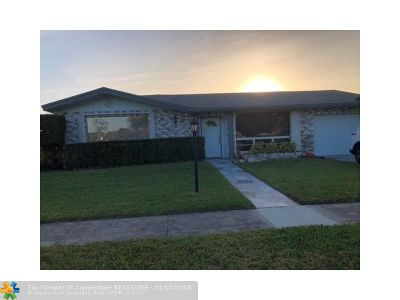 Coconut Creek Single Family Home For Sale: 540 NW 43rd Ave
