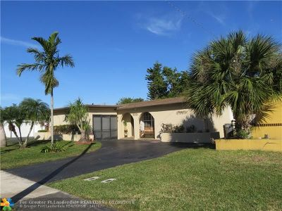 Sunrise Single Family Home For Sale: 9221 NW 25 St