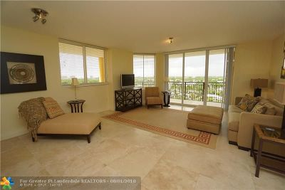 Fort Lauderdale Condo/Townhouse For Sale: 2011 N Ocean Blvd #802n