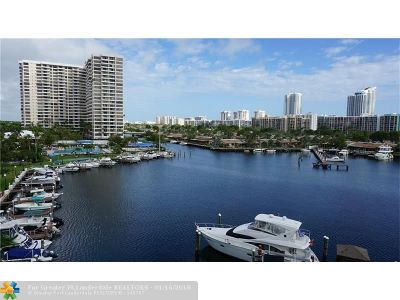Hallandale Condo/Townhouse For Sale: 300 Three Islands Blvd #205